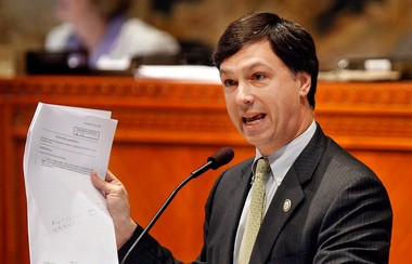 Rep. Neil Abramson, D-New Orleans, takes the floor as house members debate amendments proposed to House Bill 976 at the State Capitol Building in Baton Rouge in March 2012. (Photo by Brett Duke, NOLA.com | The Times-Picayune archive)