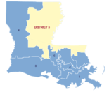 Louisiana's 5th Congressional District is the state's largest geographically, encompassing all or parts of 24 parishes in the northeast and central portions of the state. It's also one of the most impoverished districts in the nation, according to U.S. census data.