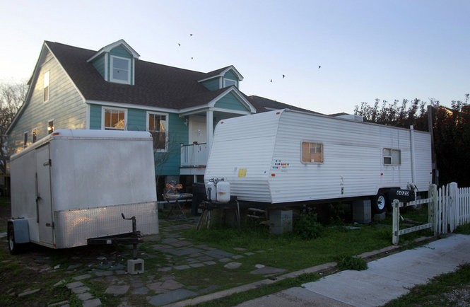 """The """"FEMA trailers"""" used after Hurricane Katrina were RVs not name for long-term use, prompting complaints of toxic fumes and space limitations."""