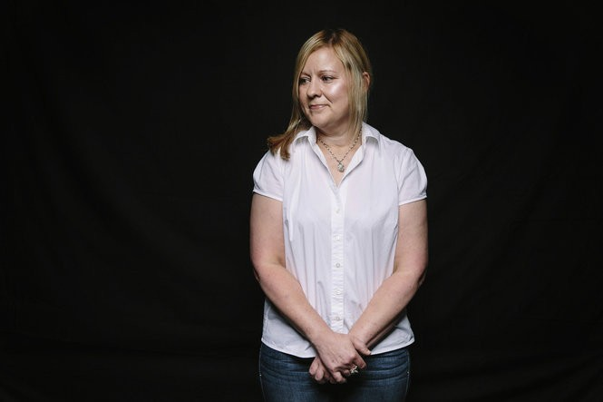 June Oswald, 46, of New Orleans is a lawyer who has struggled with addiction. She was diagnosed with hepatitis C in December. Medicaid denied her claims for treatment because the damage to her liver was not severe enough. (Photo for The Washington Post by Edmund D. Fountain0