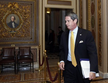 Sen. David Vitter is fighting the Obama administration over its settlement of environmental lawsuits.