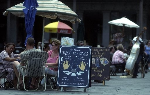 So the question is: how does this law square with the fortune tellers in Jackson Square?