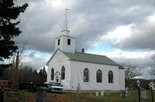 The All Saints Anglican Church in Nova Scotia before deconstruction. The church was carefully taken apart, stored for several years, and recently trucked to Abita Springs, where another church congregation will put it back together in time for Easter, 2014, services.
