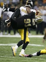 Will Smith against the Pittsburgh Steelers at the Superdome onOctober 31, 2010. Ted Jackson/The Times-Picayune