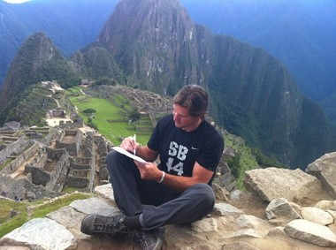 Linebacker Scott Fujita signed a one-day contract with the New Orleans Saints on Monday while he was on a hiking expedition in the Andes Mountains. Fujita signed the deal so he could retire from the NFL as a member of the Saints.