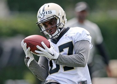 New Orleans Saints wide receiver Tommylee Lewis (87) during OTAs at New Orleans Saints headquarters in Metairie on Thursday, June 9, 2016. (Photo by Michael DeMocker, NOLA.com | The Times-Picayune)