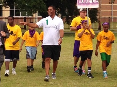Marcus Allen, a member of the Laureus World Sports Academy, said after-school athletic programs are key to helping urban youth.