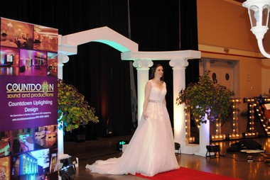 "A Bridal Show model from a previous show at the Northshore Harbor Center. This year's event is themed ""Spring Time in Paris"" and scheduled for Mar. 6 from 1 to 4:30 p.m."