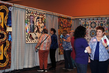 2016 Quilt Show at the Northshore Harbor Center.