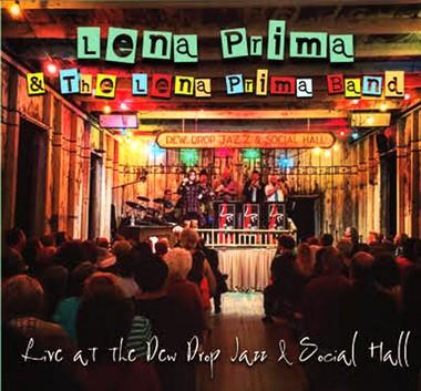 """The cover of """"Live at the Dew Drop Jazz and Social Hall"""" depicts singer Lena Prima's first performance in St. Tammany Parish since returning home to Louisiana in 2011. Prima spent much of her childhood in Covington, enjoying life on the now-gone Pretty Acres Golf Course, owned by her father, Louis Prima, best-known for hits such as """"Just a Gigolo."""" (Photo provided by Lena Prima)."""