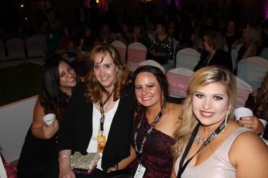 (Left to Right): Bianca Gonzalez, Stefanie Sturdevant, Jessica Blackwell and Morgan Deynoodt (Kara Martinez Bachman)