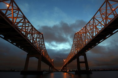 Crescent City Connection tolls were suspended starting Tuesday at 6 p.m.