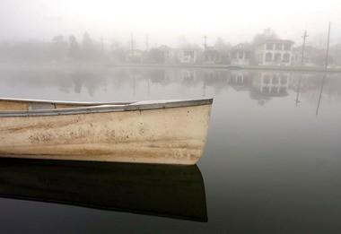 JENNIFER ZDON / THE TIMES-PICAYUNE Fog covers Bayou St. John in the early morning Wednesday, December 17, 2008.