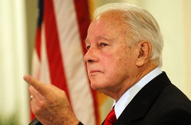 Former Gov. Edwin Edwards, pictured on July 30, 2011, is seeking an early end from his supervised release. Prosecutors have indicated they are in favor of the motion.