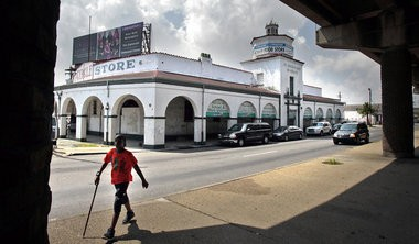 A statement from Mayor Mitch Landrieu's administration announced a major funding initiative on Aug. 2, 2012 to help the iconic 7th Ward Circle Food Store, shuttered since Hurricane Katrina, to reopen, hopefully by the end of summer.