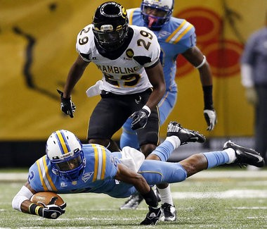 Southern University Jaguars wide receiver Lee Doss (2) was an All-SWAC performer as a junior in 2012. (Photo by Brett Duke, Nola.com | The Times-Picayune)