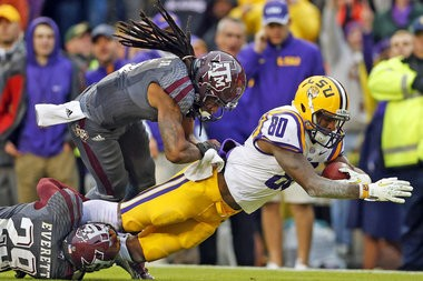 ESPN's Mel Kiper Jr. thinks Jarvis landry will be picked by the San Francisco 49ers with the 30th pick in the first round of the NFL draft.
