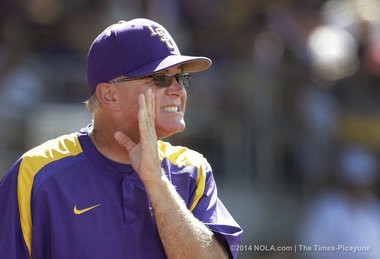 LSU coach Paul Mainieri wants a first baseman to be productive with the bat but also capable of saving runs in the field.