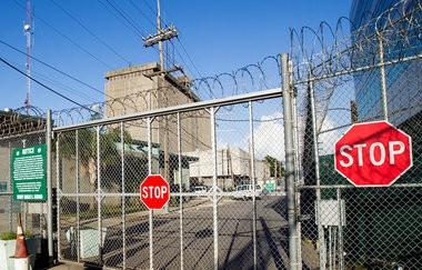 One of the main gates to Orleans Parish Prison. (Photo by Chris Granger, Nola.com | The Times-Picayune)
