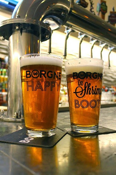 Beer geeks get to experiment thanks to Borgne's happy-hour specials launched this past July 2014. Happy hour runs from 3 to 6 p.m. every day -- except for Tuesday, when the specials extend to 7 p.m. Specials include a daily menu of tapas plates for $5 each along with $2 canned beers.