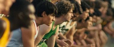 Carlos Pratts, second from left, stars in director Niki Caro's sports drama 'McFarland, USA.' (Ron Phillips / Disney)