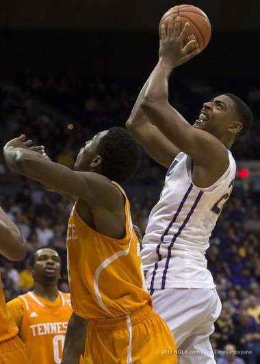 Improving his offensive skill set will be vital for former LSU forward Jordan Mickey as he embarks on a career in pro basketball.