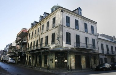 This is the Napoleon House on Chartres Street in the French Quarter in New Orleans as seen in 2008. (Kathy Anderson / The Times-Picayune)