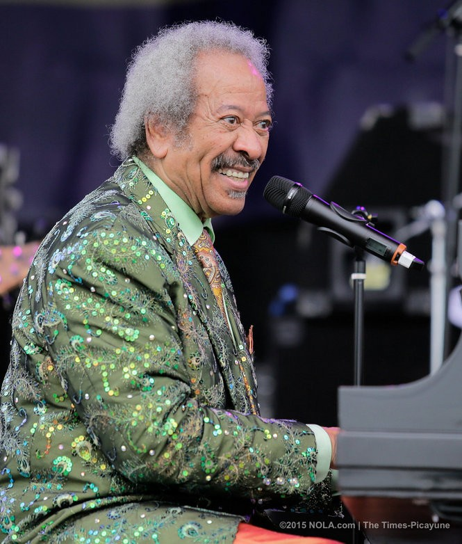 Allen Toussaint, here performing with his band at 32nd annual French Quarter Festival on Thursday, April 9, 2015, co-founded HOAAHH in 1985. (David Grunfeld, NOLA.com | The Times-Picayune) (Photo by David Grunfeld, NOLA.com | The Times-Picayune)