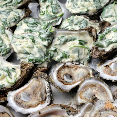 Oysters Rockefeller by Miles Prescott. (Photo by David Grunfeld, NOLA.com | The Times-Picayune)
