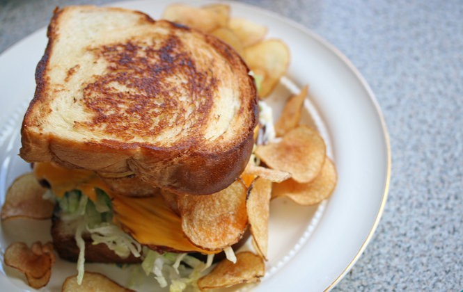The menu at Turkey and the Wolf includes a bologna sandwich with potato chips. (Photo by Todd A. Price, NOLA.com | The Times-Picayune)