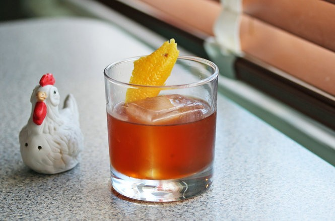 At Turkey and the Wolf, the cocktails include The Best Part of Waking Up with rye, rum and coffee syrup. (Photo by Todd A. Price, NOLA.com | The Times-Picayune)