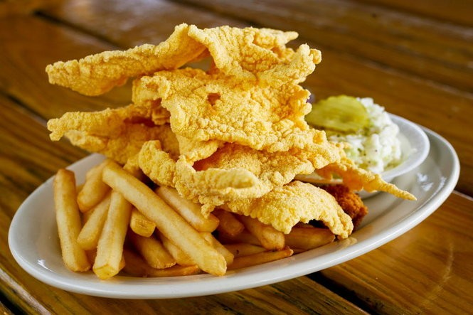 The thin-fried catfish plate at Middendorf's Seafood Restaurant. (NOLA.com | The Times-Picayune archive)