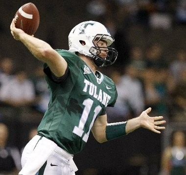 Tulane quarterback Ryan Griffin.