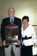 Dick Bower and his wife Barbara.