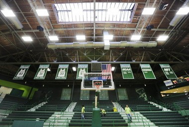 Tulane University's Devlin Fieldhouse seats 4,100 for home games, making it one of the smallest venues in Division I college athletics. (Photo by Chris Granger, NOLA.com/The Times-Picayune)