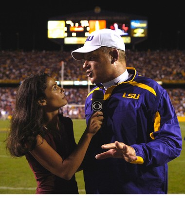 Tracy Wolfson, Les Miles.