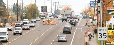 The Beaverton City Council will discuss the Tualatin Valley Highway Corridor Plan at its meeting tonight.