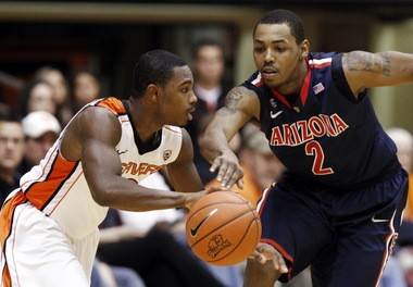 Ahmad Starks never gained control of the Beavers offense.