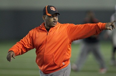 Mike Riley said secondary coach Rod Perry (above) was instrumental in signing the Beavers' 2013 class, which features a handful of star defensive backs.