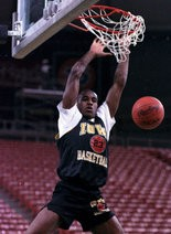 Roy Marble, Iowa's all-time leading scorer, returned to the NBA during the 1993-94 season, playing five games for the Denver Nuggets.