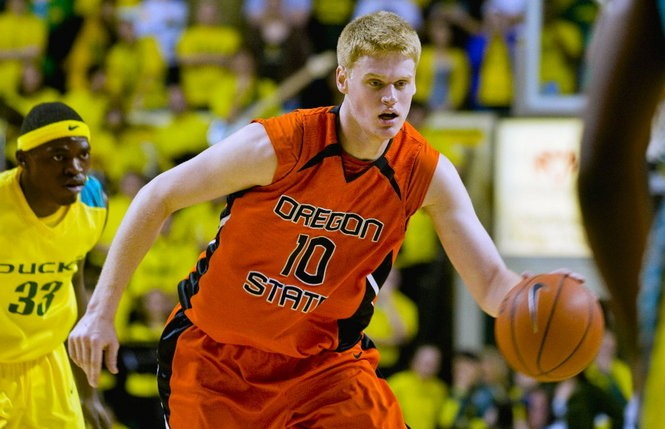 Roeland Schaftenaar, who now plays for the Rethymno Cretan Kings, emerged as a starter in his final two seasons at Oregon State under Craig Robinson.