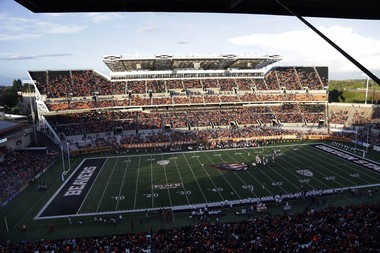 Reser Stadium averaged 36,079 fans at home games in 2015, down from 42,175 per game the previous season.