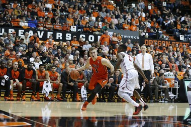 Attendance at Oregon State men's basketball games has grown over the past two seasons. Gill Coliseum sold out twice last year, the first times since the 2011-12 season.