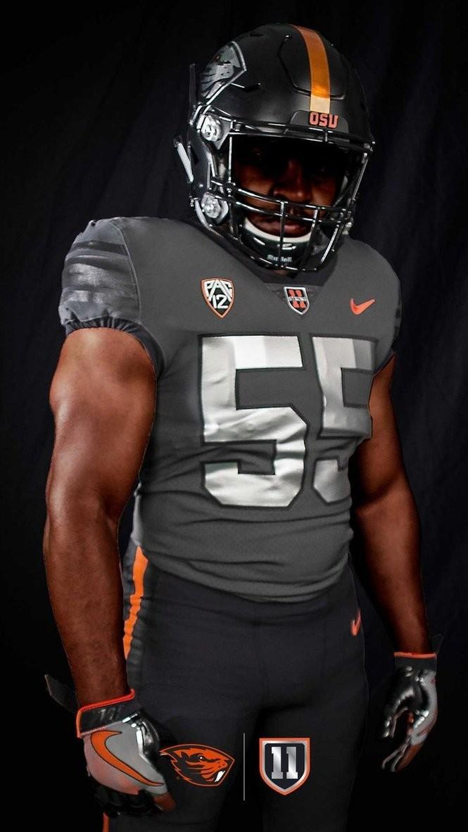 Oregon State Beavers unveil '11 strong' alternate Nike football ...