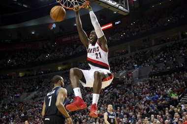 J.J. Hickson is averaging 12.9 points and 10.6 rebounds this season in 29 minutes. He leads the Blazers in rebounding, field goal percentage (.567) and is sixth in the NBA with 40 double-doubles.