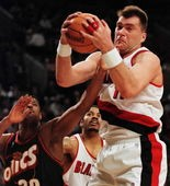 Mason's introduction for Lithuanian native Arvydas Sabonis started a trend for international players in Portland.