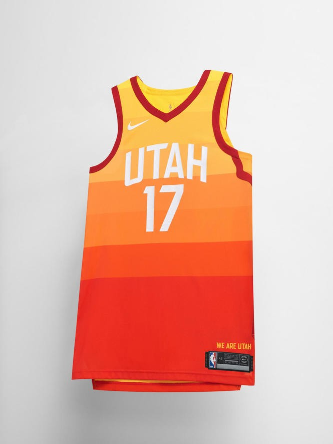 timeless design 1b460 c988c A look at every NBA team's new Nike 'City' alternate jersey ...