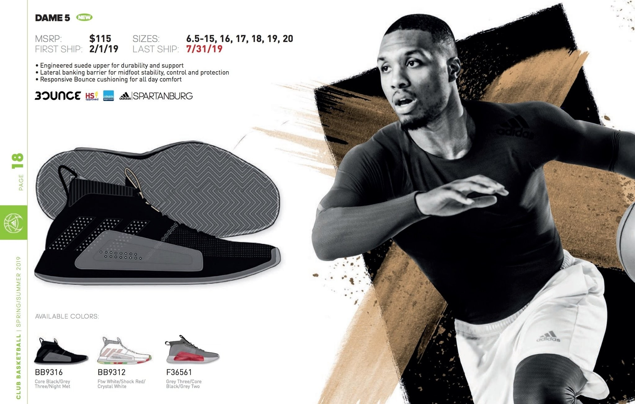 Adidas unveils early look at Damian