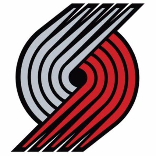 Trail Blazers current pinwheel logo