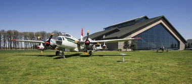 The Evergreen Aviation & Space Museum is a non-profit tourist attraction across the highway from Evergreen International Aviation's McMinnville headquarters.